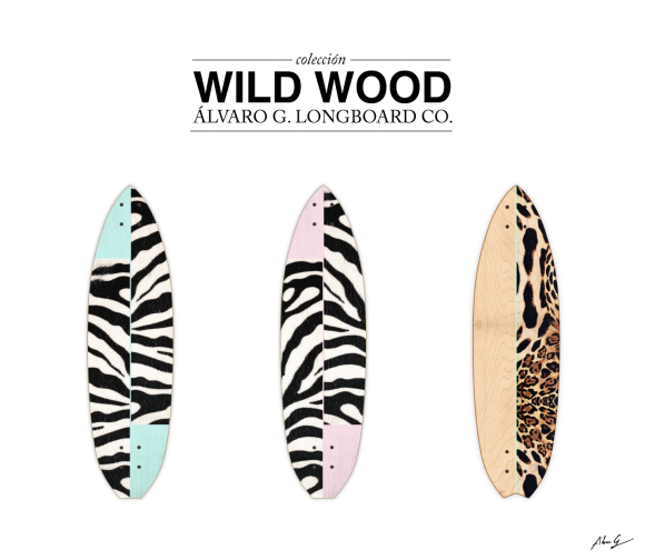 Wild Wood Álvaro G longboards